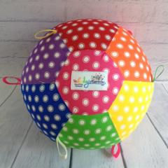 Balloon Ball: Taggie: Rainbow Spots